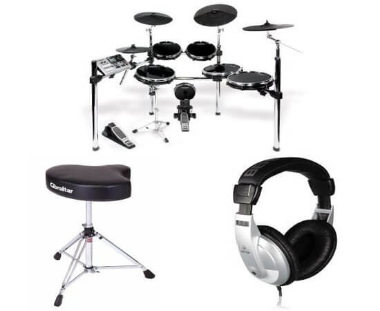 Alesis DM10X Mesh Studio Kit best eledctronic drum set for professionals